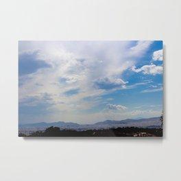 Athenian Cloudscape Metal Print