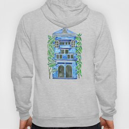 Tropical Blue House Hoody