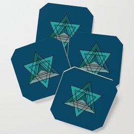 Star Tetrahedron Coaster