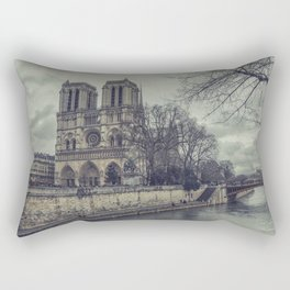 Notre Dame 1 Rectangular Pillow