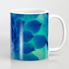 Neon Blue Sempervivum Coffee Mug