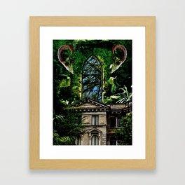 Hoarder's Corridor Framed Art Print