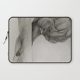 Pencil drawing kitten sphinx, graphic art Laptop Sleeve