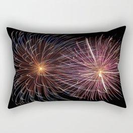 Firewrorks Burst Rectangular Pillow