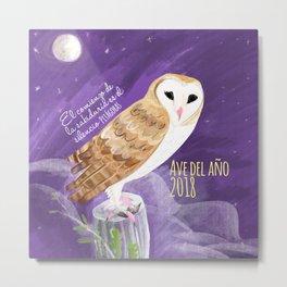Totem Barn owl (GREFA) Metal Print