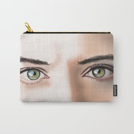 Jensen Ackles (Supernatural) Eyes are Doorways Carry-All Pouch