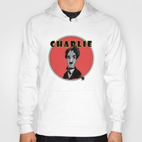charlie Hoodies featuring Charlie by Todd A. Winter