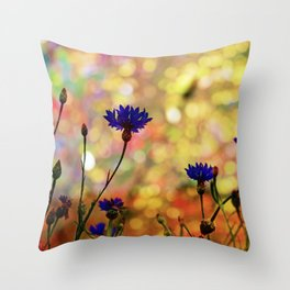 Summer Field Impression 2 Throw Pillow