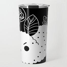 Angry Sea Slug Bunny Travel Mug