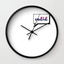 Bi People are Valid Wall Clock