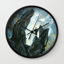 Ritualistic Theatricality Wall Clock