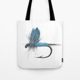 Blue Dun Dry Fly Tote Bag
