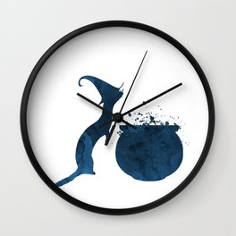 Witch Ferret Wall Clock