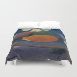 "Paul Gauguin ""Nature morte aux trois fruits"" Duvet Cover"