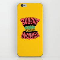 grease iPhone & iPod Skins featuring The Grease That Moves The Industry by Chris Piascik