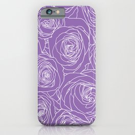 Amethyst Roses iPhone Case