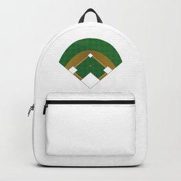 Baseball Illustration Backpack