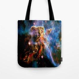GAlAxY : Mystic Mountain Nebula Tote Bag