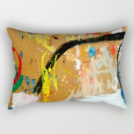 Poesia Urbana Rectangular Pillow