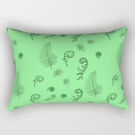 Fiddleheads and Ferns Rectangular Pillow