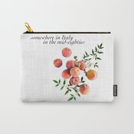 Call Me By Your Name - Inscription Carry-All Pouch