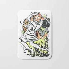 The Tiger Whisperer Bath Mat