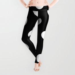 Polkadot (White & Black Pattern) Leggings