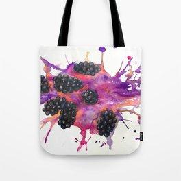 Blackberry Explosion Tote Bag