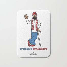 Where's Waldeep? Bath Mat