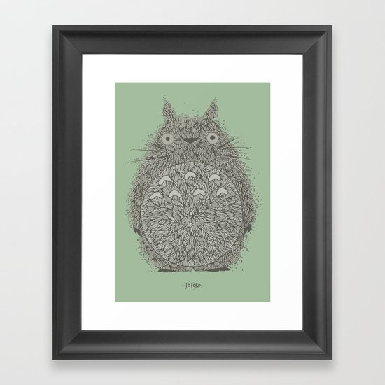 Green Totoro by iing