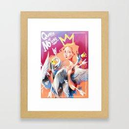 La Reina de Nadie Framed Art Print