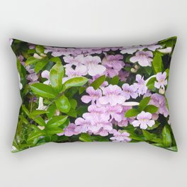 Violet Trumpets Rectangular Pillow