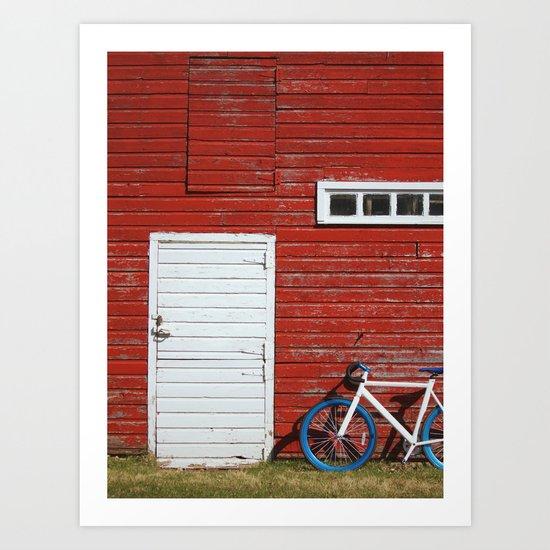 Urban Meets Rural Art Print