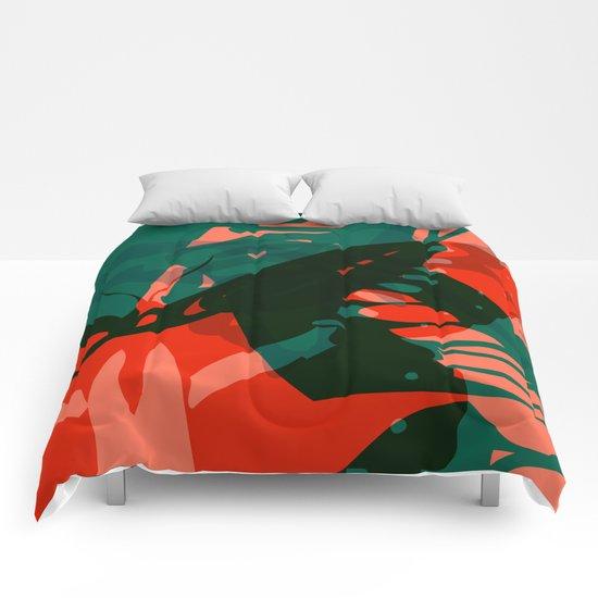Abstract Butterflies 04 Comforters