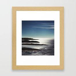 Fingers in the Atlantic Framed Art Print