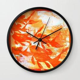 Plaster's Koi Wall Clock