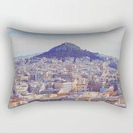 Above the City Rectangular Pillow