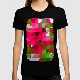 Crape Myrtle Abstract Circles 1 T-shirt