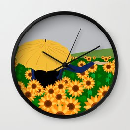 There is rain or no? Wall Clock