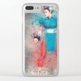 Street Fighter 2 - Chung Le Clear iPhone Case