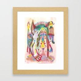 Orgy Framed Art Print