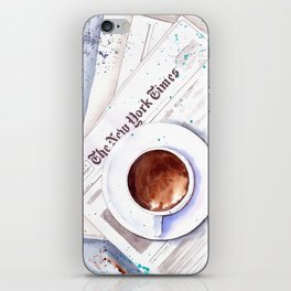 Cup of coffee iPhone Skin
