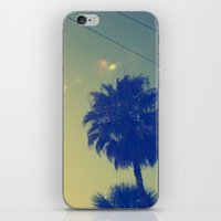 palms iPhone & iPod Skins featuring Palms by Devin Stout