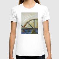 bridge T-shirts featuring Bridge by Vilnis Klints