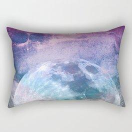 MOON under MAGIC SKY I Rectangular Pillow