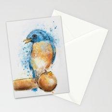 Expressive Bluebird Stationery Cards
