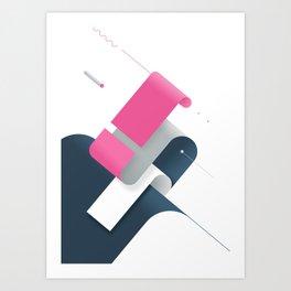 Geometric Composition 10c Art Print