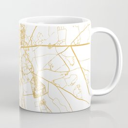 MARRAKESH MOROCCO CITY STREET MAP ART Coffee Mug