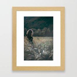 Land of dreams Framed Art Print