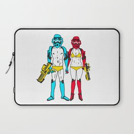 Mr. and Mrs. Storm Laptop Sleeve